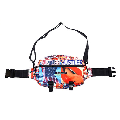 40s & Shorties X HUSTLER MAGAZINE HIP BAG