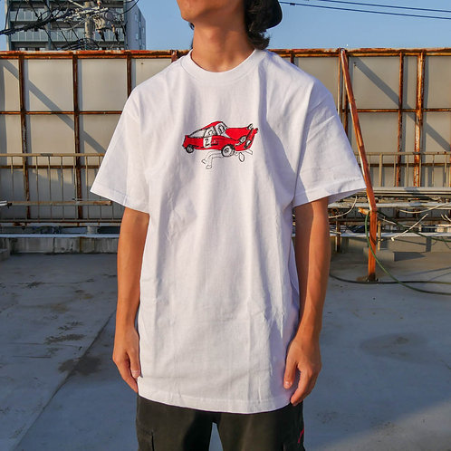 krab world - The car Tee Red