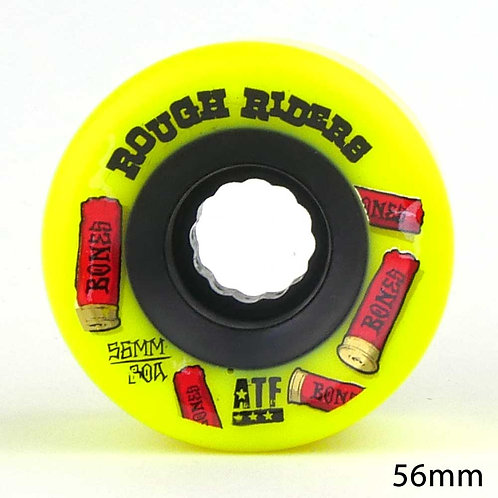 BONES ATF R.RIDERS SHOTGUN YELLOW 56mm