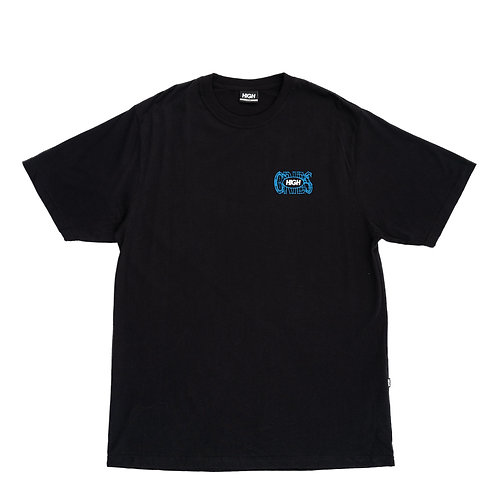 HIGH COMPANY TEE CRIBS BLACK