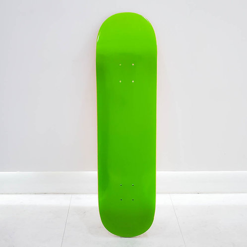 GRAVITY ORIGINAL COLOR BLANK DECK GREEN 8.0