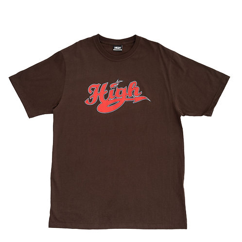 HIGH COMPANY TEE ATHLETIC BROWN