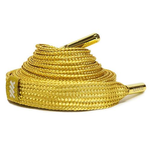 LACORDA SHOELACE BELT OG GOLD
