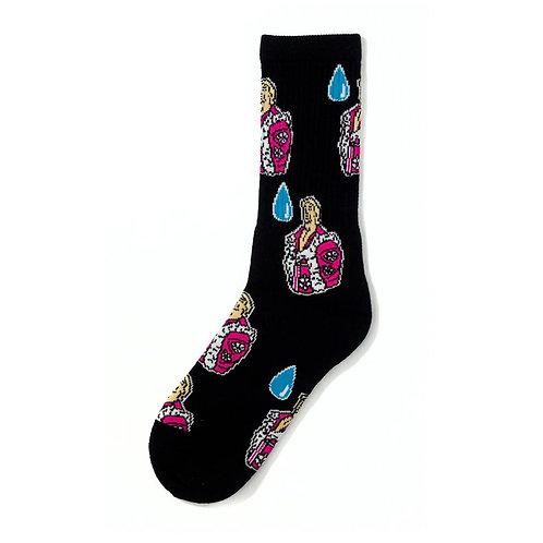 40s & Shorties Drip Socks BLACK