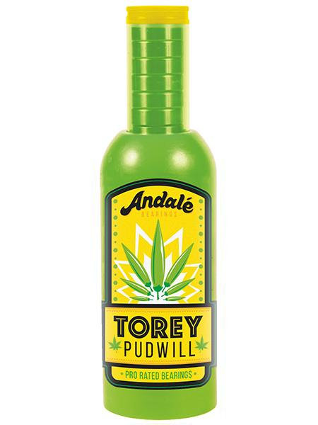 Andale Torey Pudwill Green Hot Sauce Pro Rated Bearings
