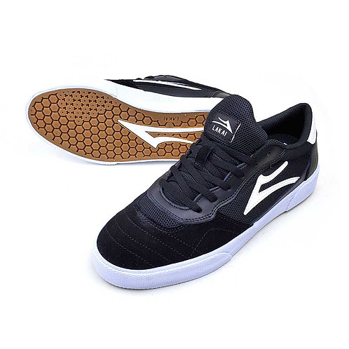 LAKAI CAMBRIDGE BLACK 26.5cm