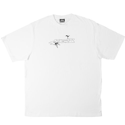 HIGH COMPANY Tee Ice Moves White