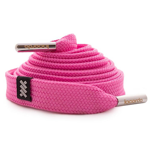 LACORDA SHOELACE BELT OG PINK