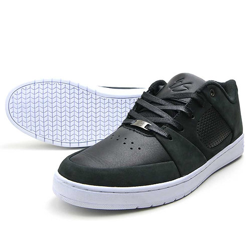 eS ACCEL SLIM BLACK/WHITE レザー