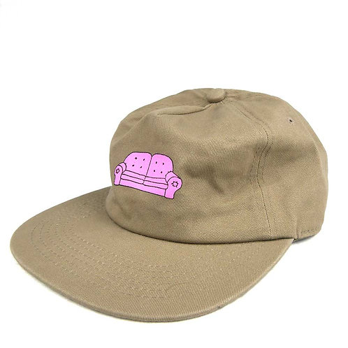 COUCH SURF CO Faded HAT Khaki
