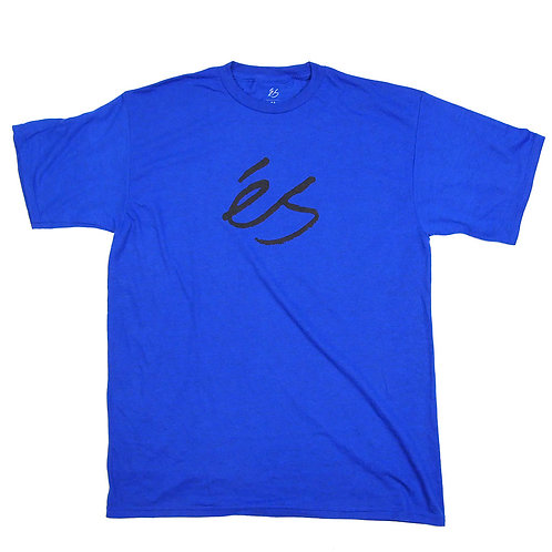 eS SCRIPT TECH TEE ROYAL