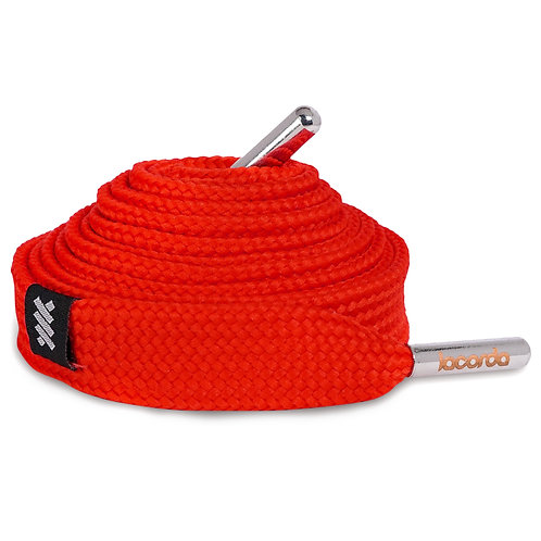 LACORDA SHOELACE BELT OG RED