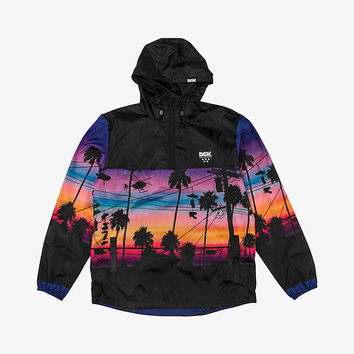 DGK VIBES CUSTOM HOODED WINDBREAKER