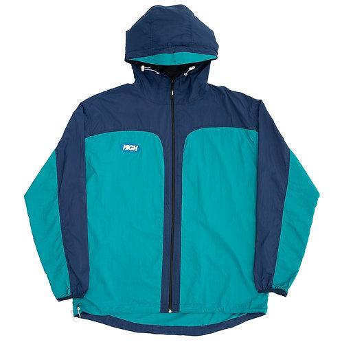 HIGH COMPANY Rain Jacket Purple/Green