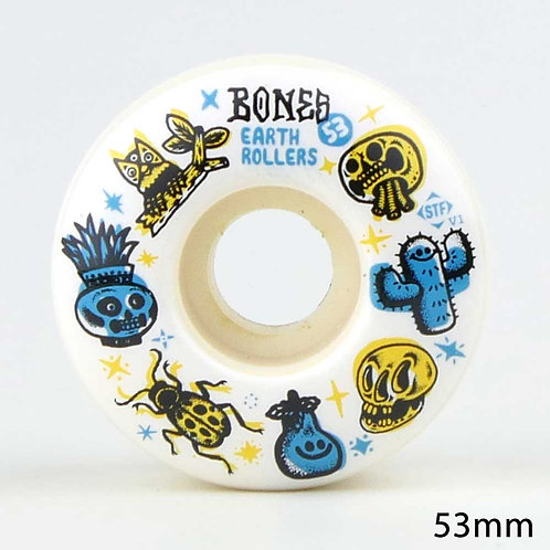 BONES WHEELS STF SIEBEN EARTH EOLLERS 53mm