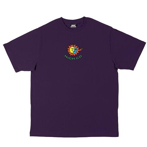 HIGH COMPANY Tee All Day Purple