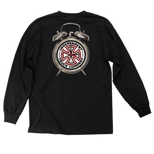 Thrasher x Independent L/S T-Shirt BLACK