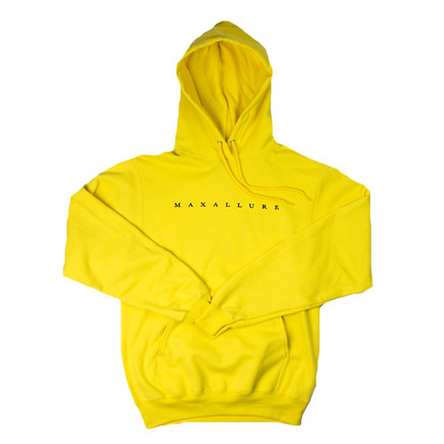 "MAXALLURE ""DIMENTION HOODY - YELLOW"""