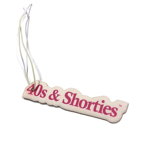 40s & Shorties AIR FRESHENER TEXT
