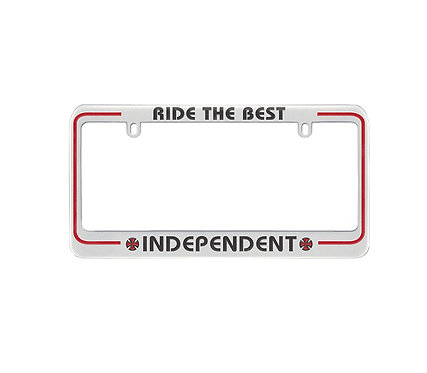 INDY RIDE THE BEST LICENSE PLATE