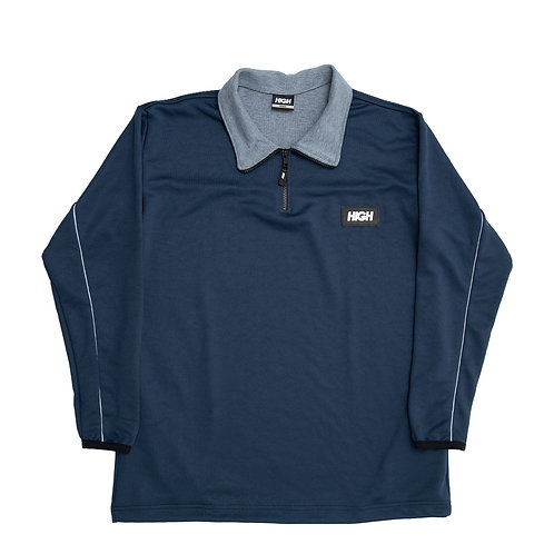 HIGH COMPANY Quarter Zip Fleece NAVY