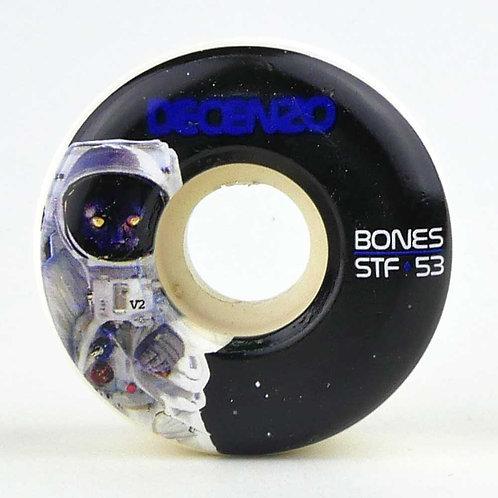 BONES WHEELS STF V2 DECENZO CATSRONAUT 53mm