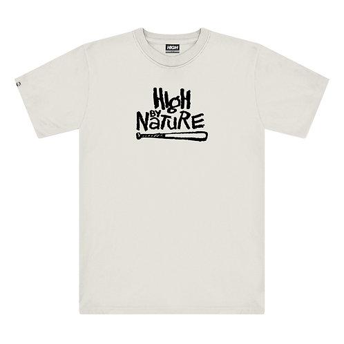 HIGH COMPANY NATURE TEE WHITE
