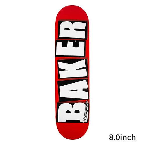 Baker Brand Logo White 8.0