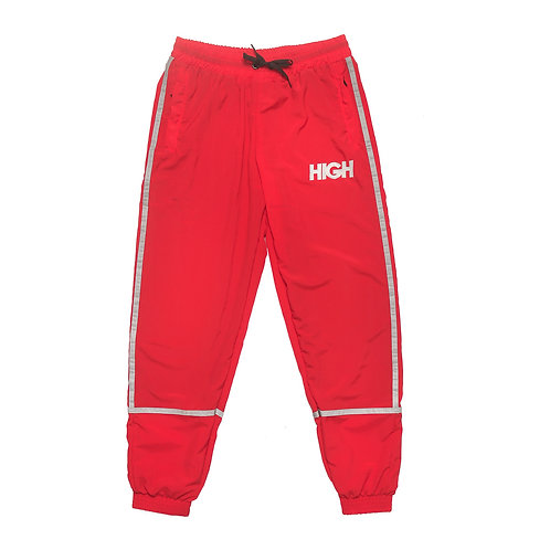 HIGH Track Pants Reflective Stripe RED