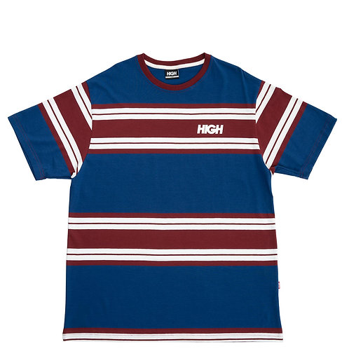 HIGH COMPANY TEE KIDZ OG NAVY/BURGUNDY