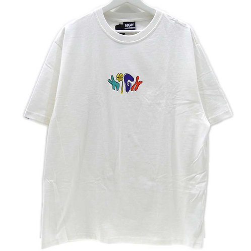 HIGH COMPANY Tee HIGH LUCKY White
