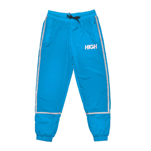 HIGH Track Pants Reflective Stripe BLUE