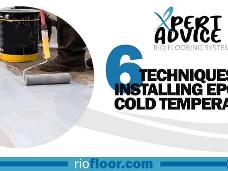 Don't let winter stop you: 6 techniques for installing epoxy in cold temperatures.