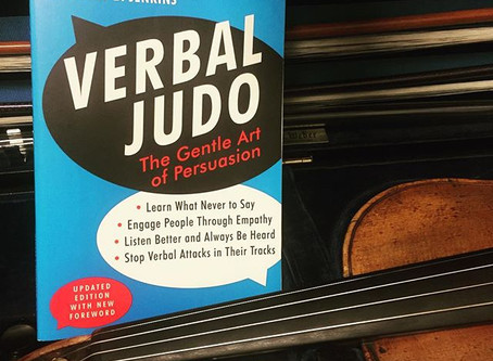 Them's Fightin' Words! Using Verbal Judo to Guide Your Child in Practice