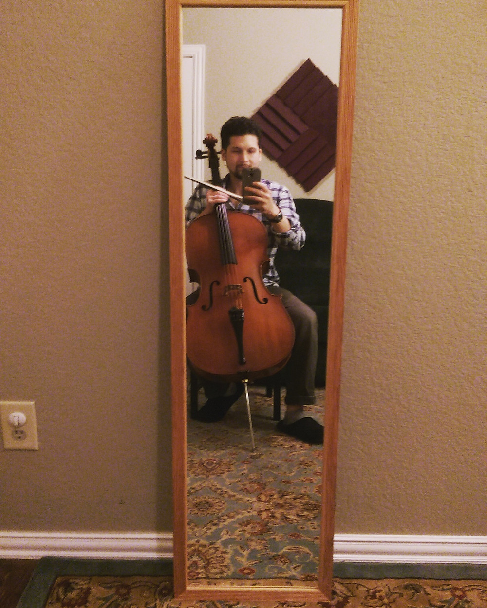 Mirror Cello