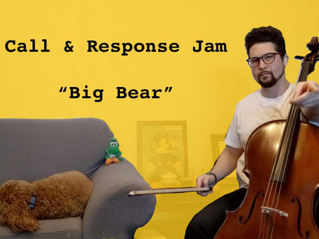 Call and Response Jam for You and Your Students (Get Your Instrument Ready for this one!)
