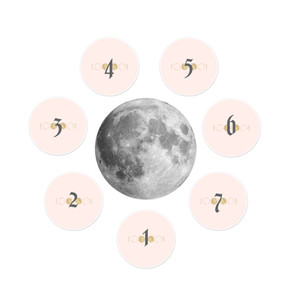 Full Moon Tarot or Oracle Spread