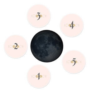 New Moon Tarot or Oracle Spread