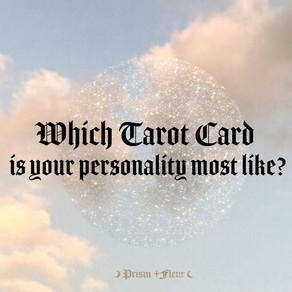 Which Tarot Card is your personality most like?