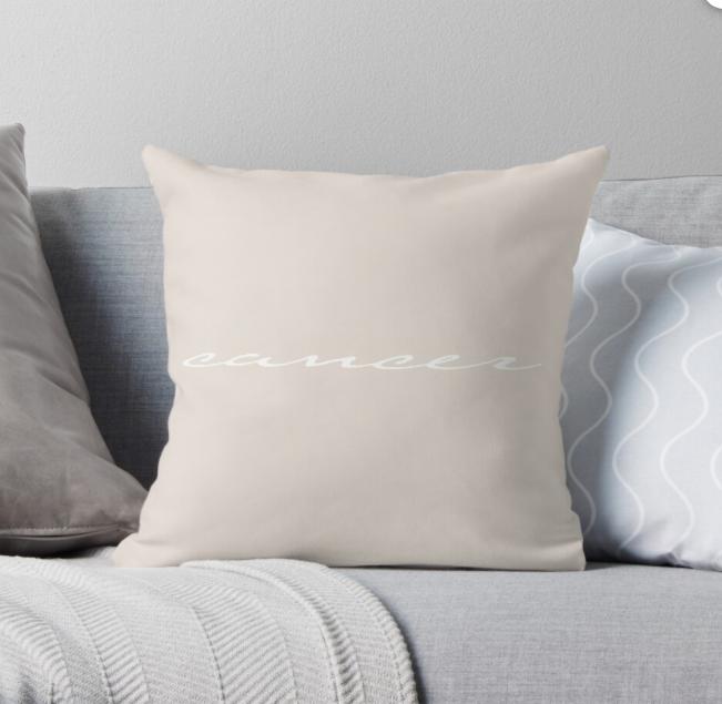 zodiac cushion throw pillow