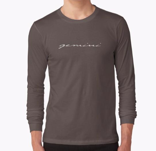 zodiac long sleeve shirt