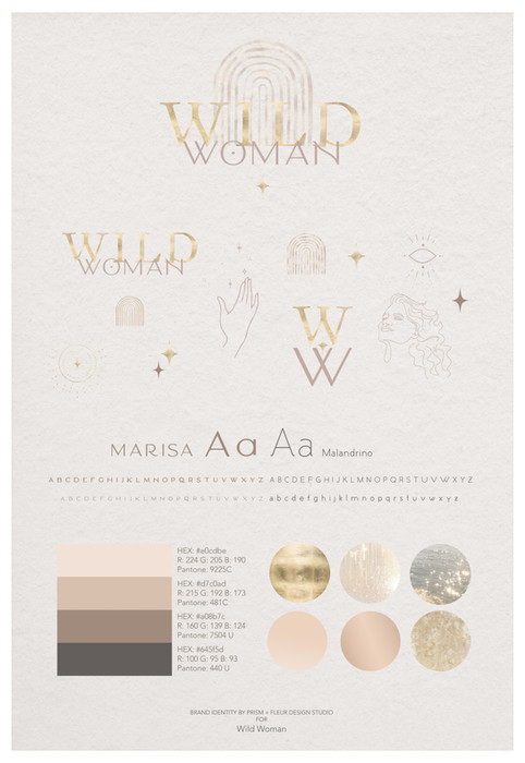 Brand Identity by Prism + Fleur