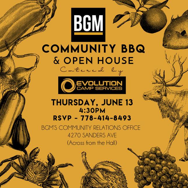 BGM Community BBQ