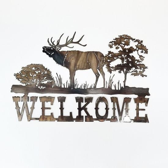 WELKOME Sign