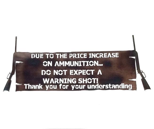 Ammo Sign