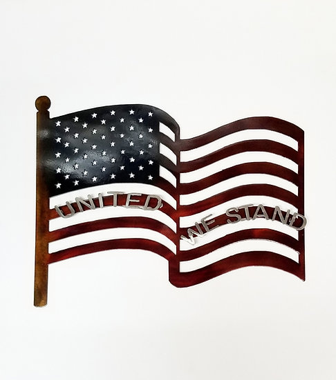 American Flag with United We Stand