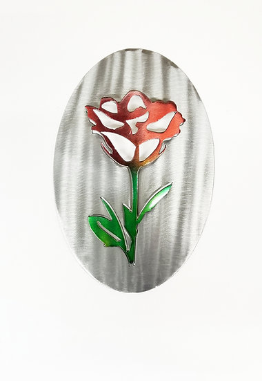 3D Rose Oval