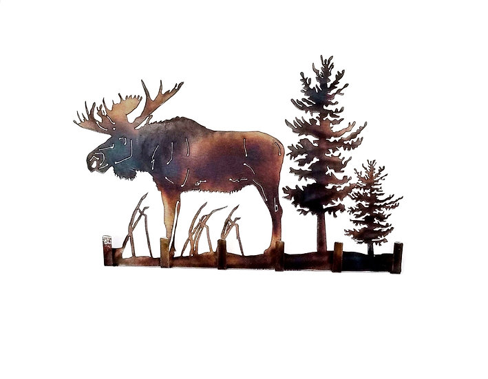 Bull Moose Key Holder