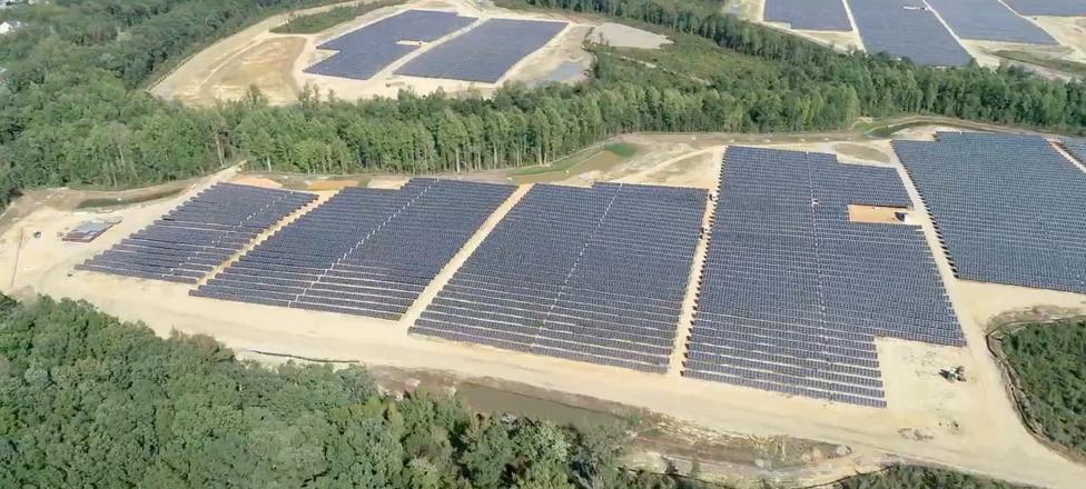 Fawn Lake, VA - Indsutrial-scale solar