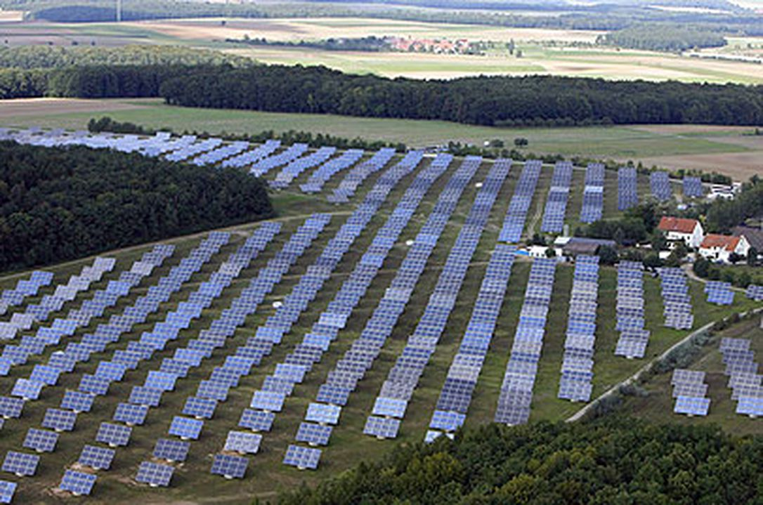 Industrial Scale Solar
